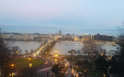 Budapest at Christmas Time